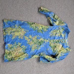Boden Linen Dress - 8 EUC